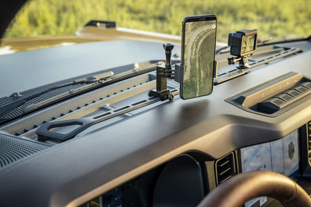 2021 Ford Bronco interior. | Ford Motor Company