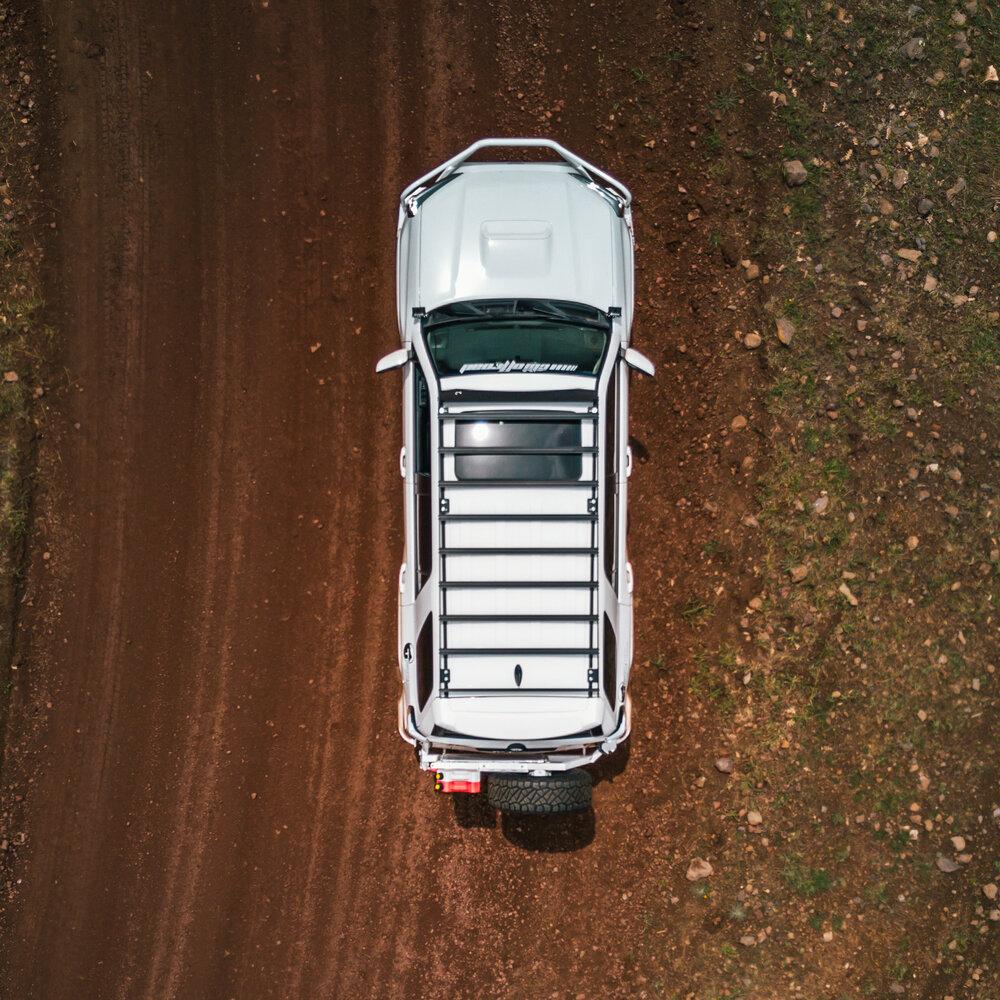 5th Gen Toyota 4Runner Roof Rack Full– Photo: CBI Offroad / Prinsu Design