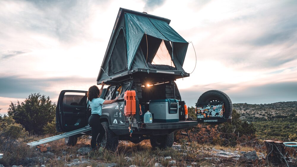 Rugged Bound Supply Co. — Penthouse Standard & XL Rooftop Tent by Big Country 4x4, South Africa
