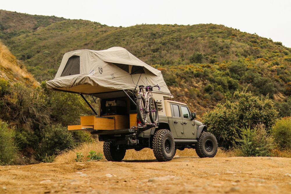 AT Overland — Habitat Truck Topper