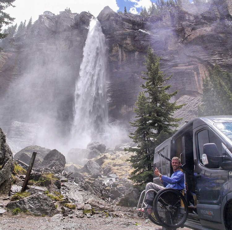Kirk is a quadriplegic who has outfitted a Ford Transit 4x4 van and is currently traveling thru South America. Kirk is a Change Your World Fund Grantee. Follow his adventures @impact.overland