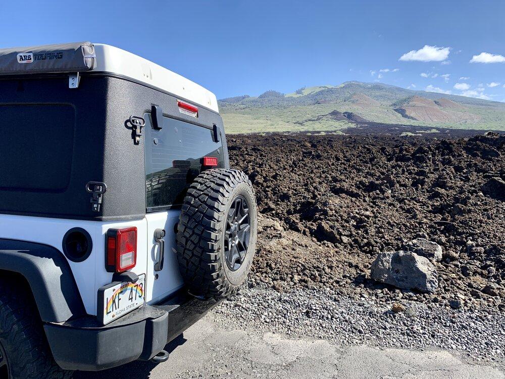 A lava field on Maui. Image:  @MyTicketToRide