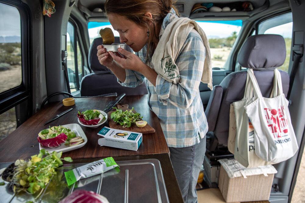 The Nourishing Nomad  in Action. Image: Sofia Aldinio