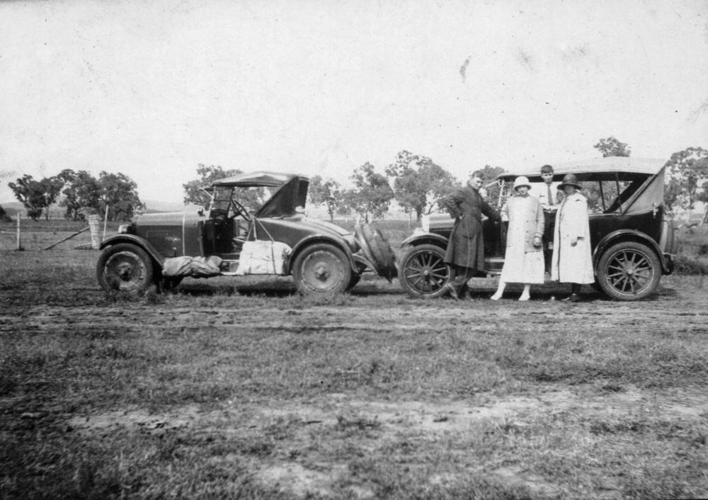 1930s Overland Honeymoon