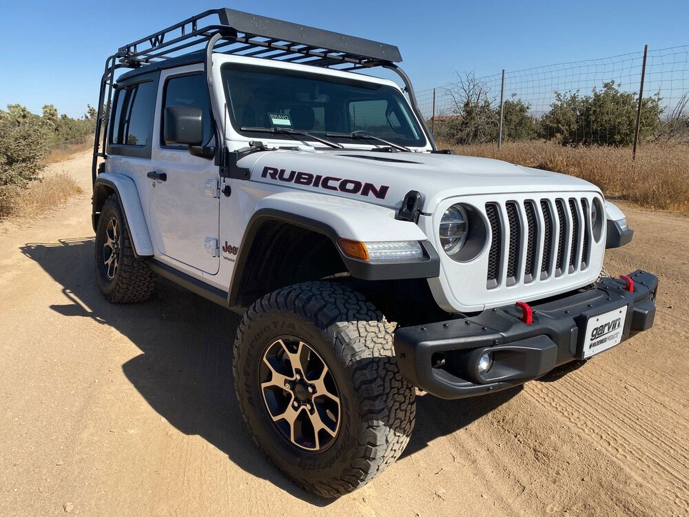 Garvin Industries Expedition Rack, Jeep Wrangler JL 2-Door