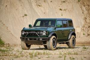 2022 Ford Bronco Eruption Green