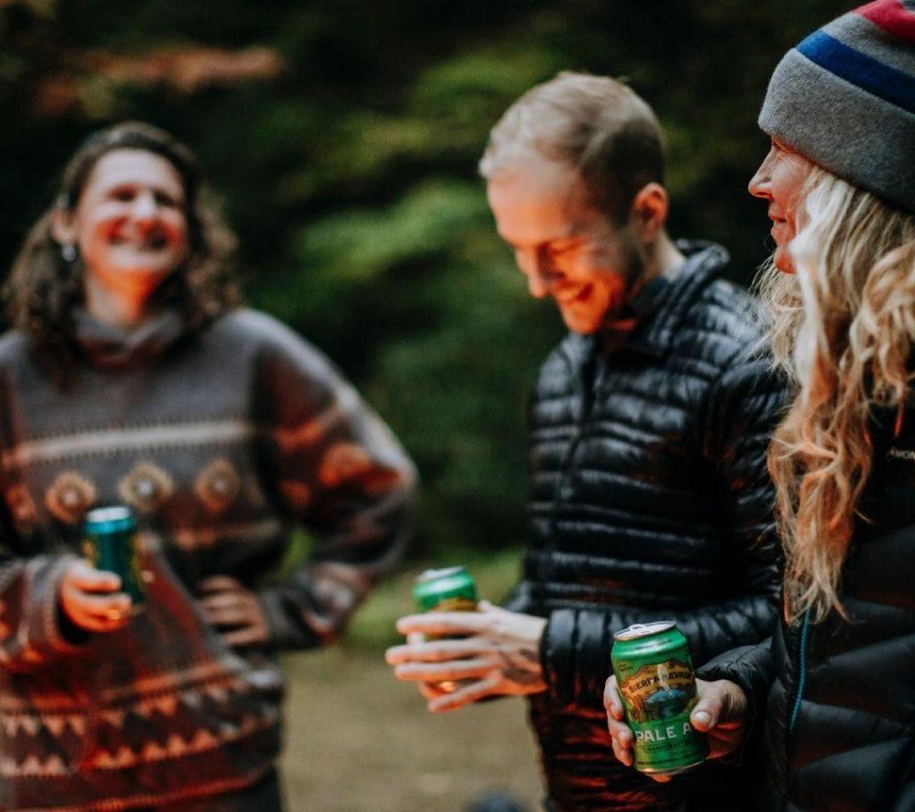 Sierra nevada beer with friends