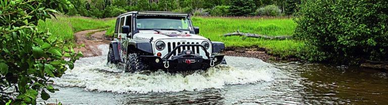 Jeep on Medona Pass