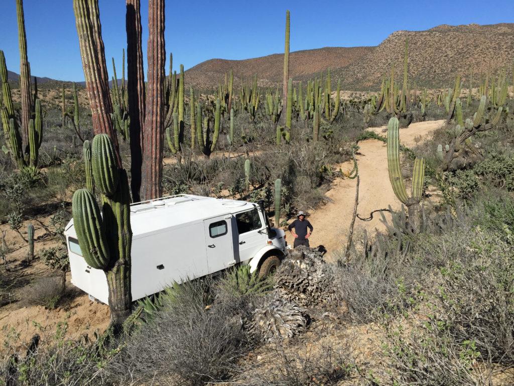Unimog in Baja