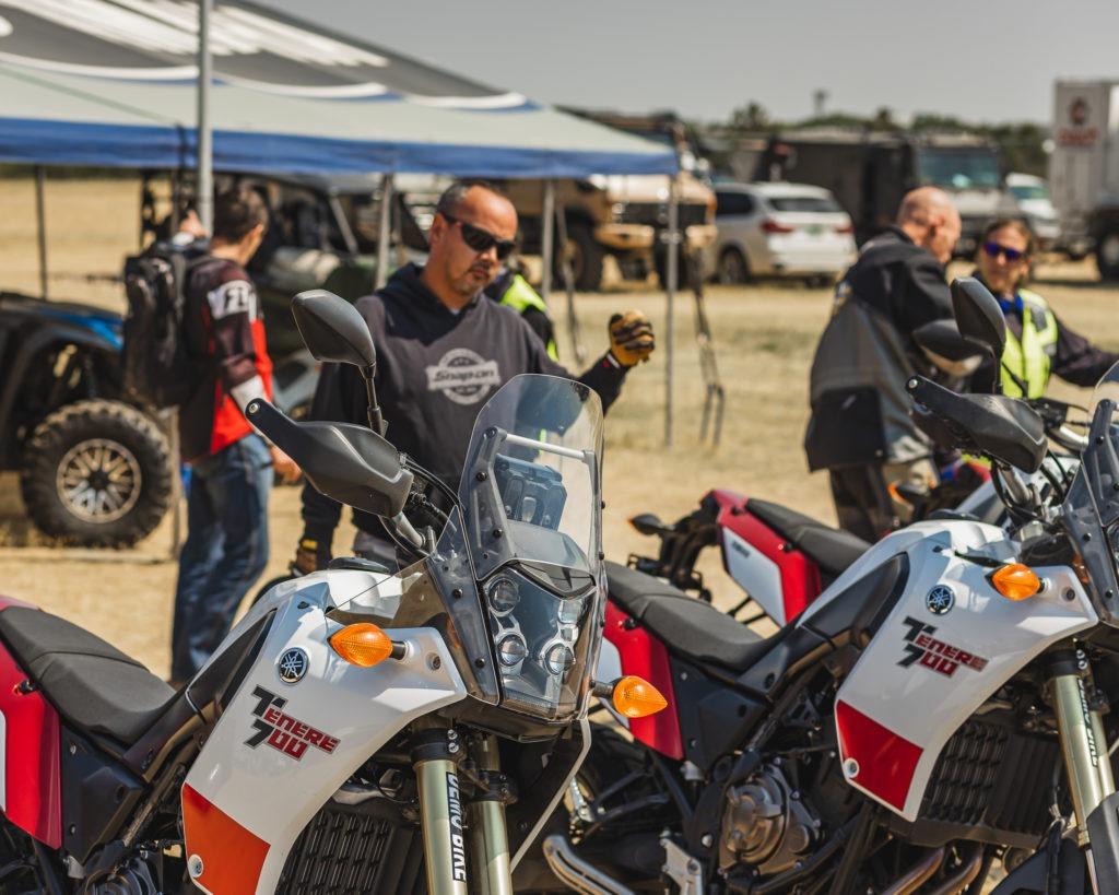 yamaha tenere demo motorcycles