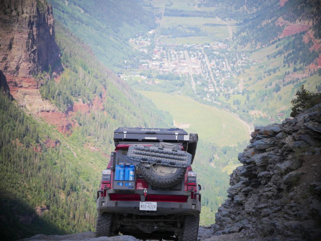 Toyota 4Runner on Alpine Loop
